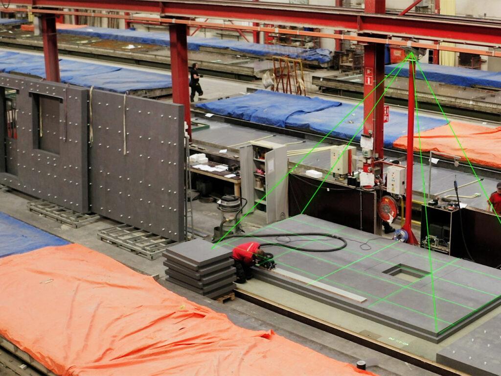 BIM4Production—Laserprojection