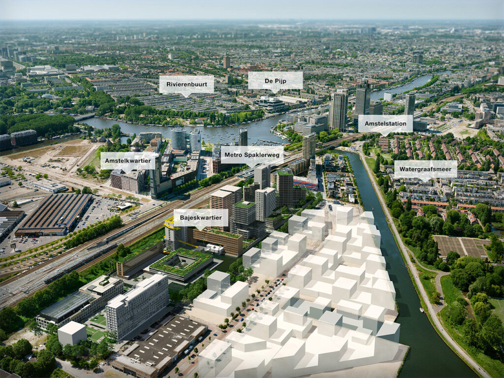 BAJESKWARTIER AMSTERDAM - Beton & Staalbouw